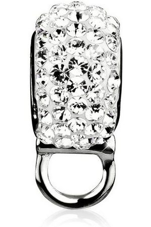 Nenalina Charm-Einhänger »Charm Träger Bead Swarovski® Kristalle 925 «