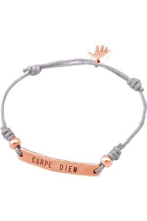 Gemshine Armband mit Gravur »Knoten Gravur CARPE DIEM. Größenverstellbar - Made in Germany«