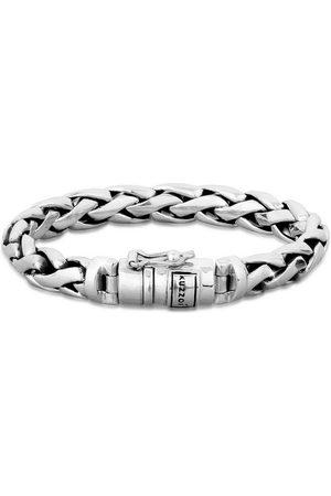 Kuzzoi Armband »Herren Gliederarmband Robust Rund 925 «
