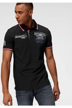 Bruno Banani Herren Poloshirts - Poloshirt mit Rückenprint