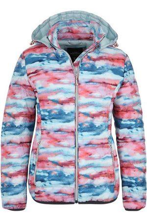 DEPROC-Active Damen Winterjacken - Winterjacke »WILDCAT HILL Women« Steppjacke mit außergewöhnlichem Design