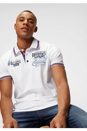Bruno Banani Poloshirt mit Rückenprint