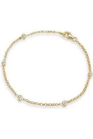 Elli Armband »Kristalle 925 Sterling Silber«