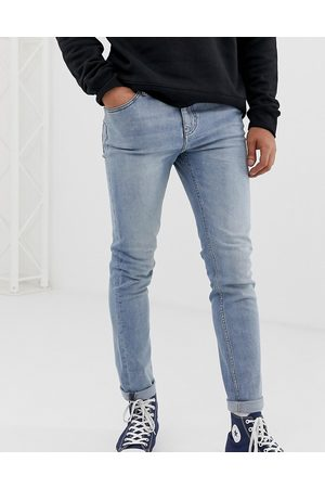 Cheap Monday – Enge Jeans in blauer Stone-Waschung