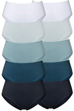 Go in Damen Slips - Hüftslip (10 Stück) in frischen Uni-Farben