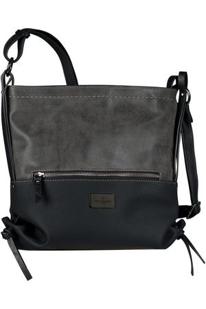 TOM TAILOR Damen Handtaschen - Umhängetasche »ELIN«, mit seitlichen Zierbändern
