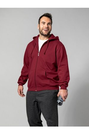 Men Plus by HAPPYsize Kapuzensweatjacke mit Kapuze