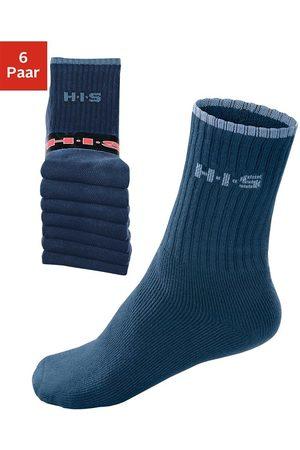 H.I.S Sportsocken (6-Paar) mit Frottee & verstärkten Belastungszonen