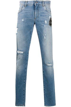Dolce & Gabbana Jeans im Distressed-Look