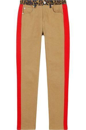 Burberry Skinny-Jeans mit Leoparden-Print