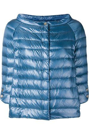 HERNO Damen Winterjacken - Jacke mit weitem U-Boot-Ausschnitt