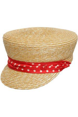 Le Mont St Michel Abby Raffia & Silk Hat