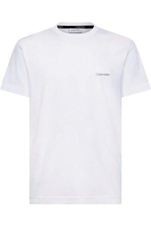 Calvin Klein T-Shirt »COTTON CHEST LOGO« kleiner - Schriftzug