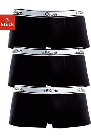 s.Oliver Hipster (3 Stück) schöne Retro Pants mit weißem Webbund