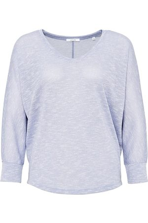 OPUS Fashion DE Damen Longsleeves - OPUS V-Shirt Sunshine