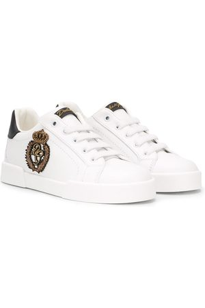 Dolce & Gabbana Sneakers mit Patch