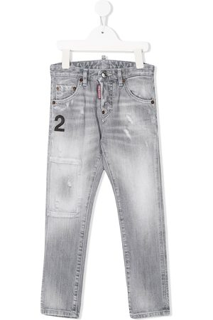 """Dsquared2 Jungen Cropped - Jeans mit """"2""""-Patch"""