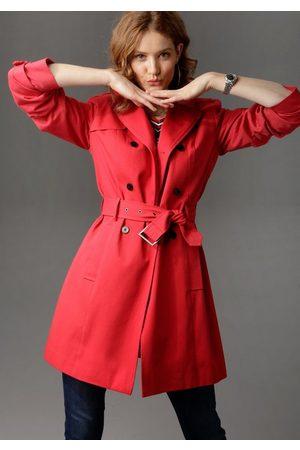 Aniston Trenchcoat mit Gürtel zum Regulieren