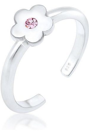 Elli Fingerring »Kinder Blume Kristall 925 «