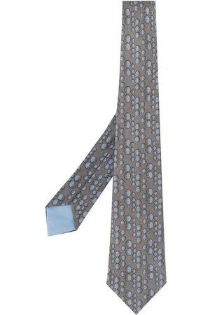 Hermès 2000s pre-owned Krawatte mit Print