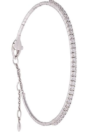 Mattia Cielo 18kt Weißgoldarmband mit Diamanten