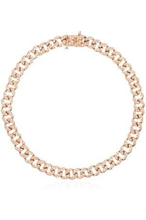 Shay 18kt Rotgoldarmband mit Diamanten