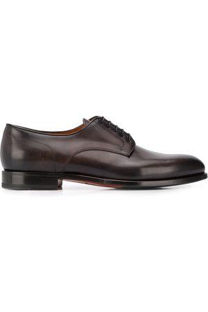 santoni Flache Derby-Schuhe