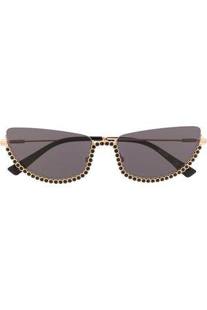 Moschino Verzierte Cat-Eye-Sonnenbrille