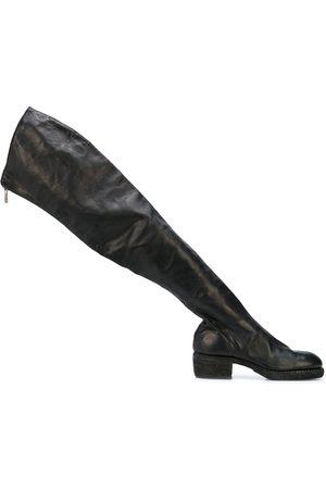 Guidi Damen Overknees - Overknee-Stiefel mit Reißverschluss