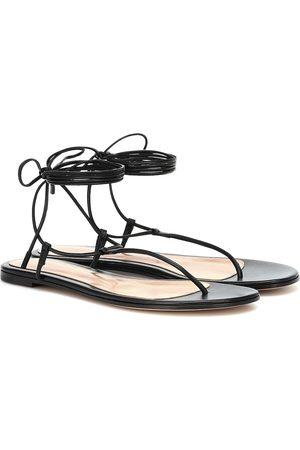 Gianvito Rossi Sandalen aus Leder