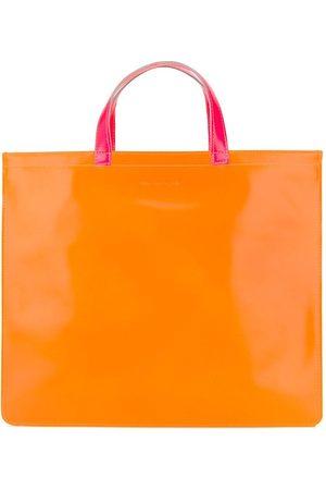 Comme Des Garçons Wallet Neonfarbener Shopper
