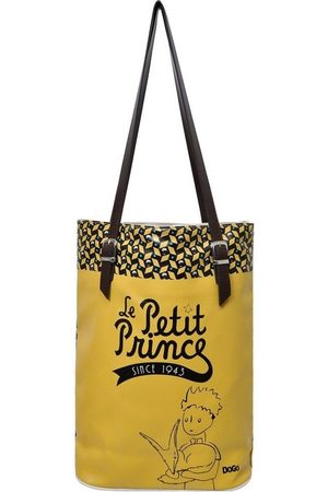 Dogo Damen Handtaschen - Umhängetasche »The Yellow Side of Me Le Petit Prince«, Vegan