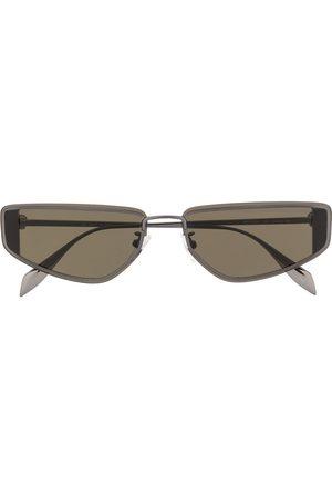 Alexander McQueen Eckige Sonnenbrille