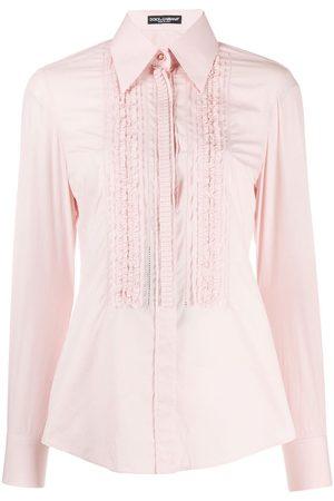 Dolce & Gabbana Hemd mit Rüschen