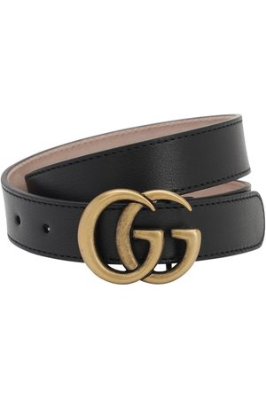Gucci Ledergürtel Mit Logo