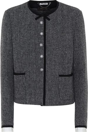 Miu Miu Damen Jacken - Jacke aus Tweed