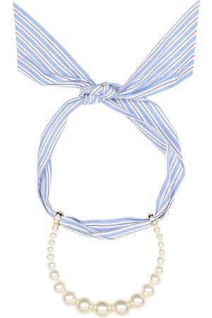 Miu Miu Halskette mit Zierperlen