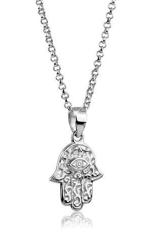 Nenalina Collierkettchen »Hamsa Hand Symbol Ornament Anhänger 925 «