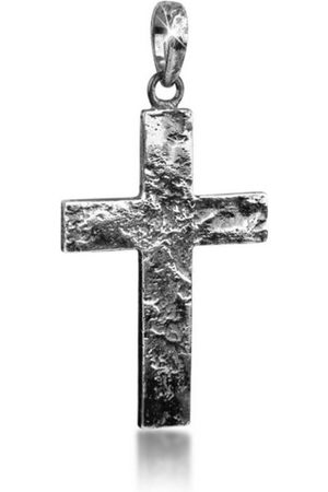 Kuzzoi Kettenanhänger »Herren Kreuz Kettenanhänger Symbol 925er Silber«