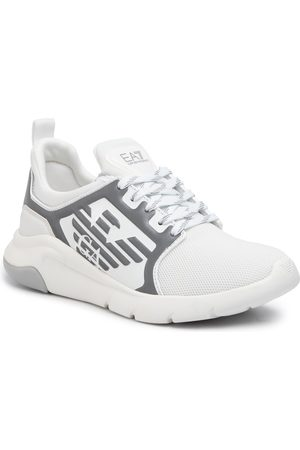 EA7 X8X057 XCC55 00175 White/Silver