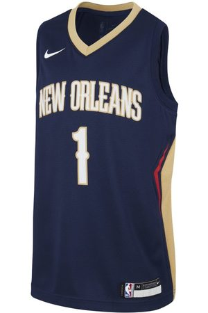 Nike Pelicans Icon Edition NBA Swingman Trikot für ältere Kinder