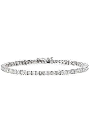 777 18kt Weißgoldarmband mit Diamanten