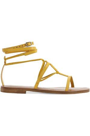 Álvaro 10mm Leather T-bar Sandals