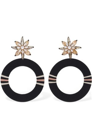 MaryJane Claverol Emma Hoop Earrings