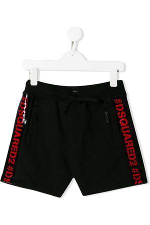Dsquared2 Shorts mit Logo-Streifen