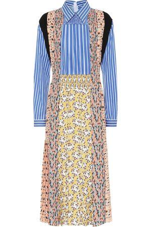 Prada Bedrucktes Kleid aus Sablé