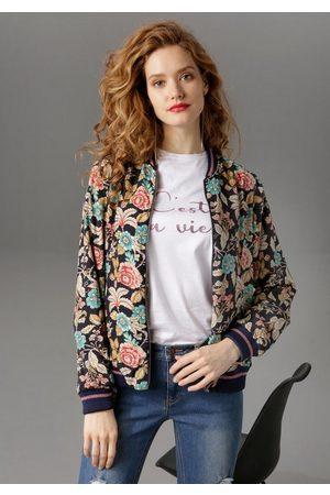 Aniston Blouson mit Blumendruck