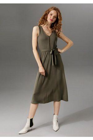 Aniston Sommerkleid unifarben oder mit farbenfrohem Druck - du hast die Wahl