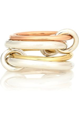 SPINELLI KILCOLLIN Ring Hyacinth aus Sterlingsilber, 18kt Gelb- und Roségold