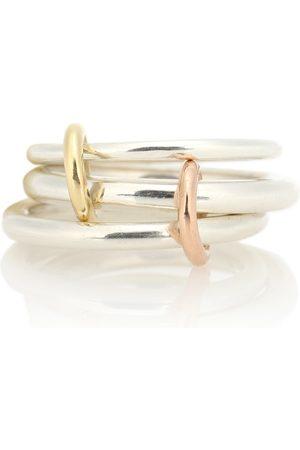 SPINELLI KILCOLLIN Ring Daphne aus Sterlingsilber, 18kt Gelb- und Roségold